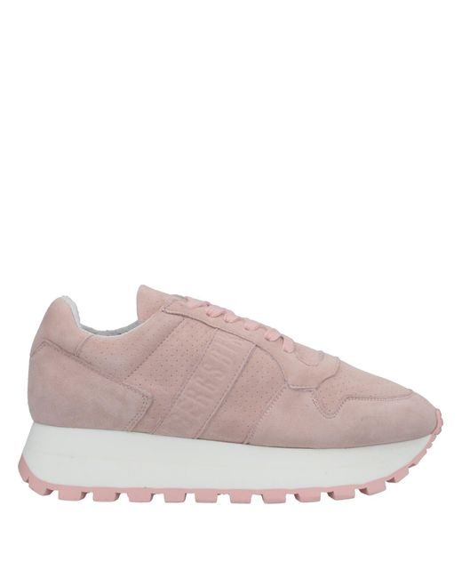 Bikkembergs Pink Low-tops & Sneakers