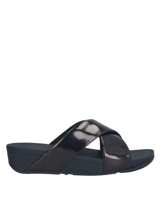 Fitflop Black Sandale