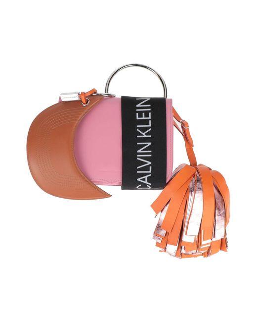 CALVIN KLEIN 205W39NYC Pink Handtaschen