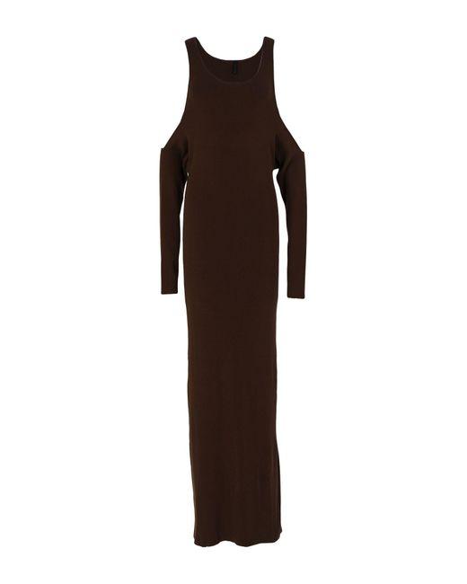 Vestido largo Unravel Project de color Brown