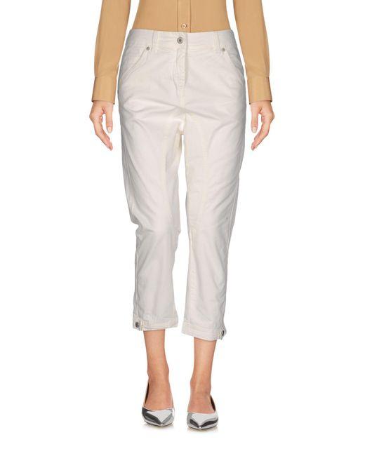 Dondup - White 3/4-length Short - Lyst