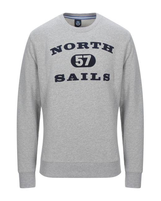 North Sails Sweatshirt in Gray für Herren