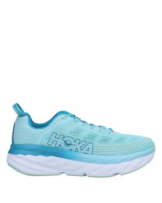 Hoka One One Blue Low Sneakers & Tennisschuhe