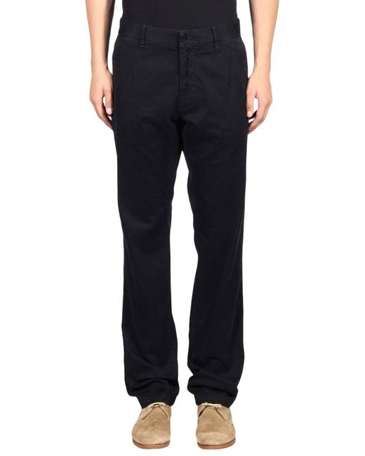 Stone Island - Blue Casual Pants for Men - Lyst