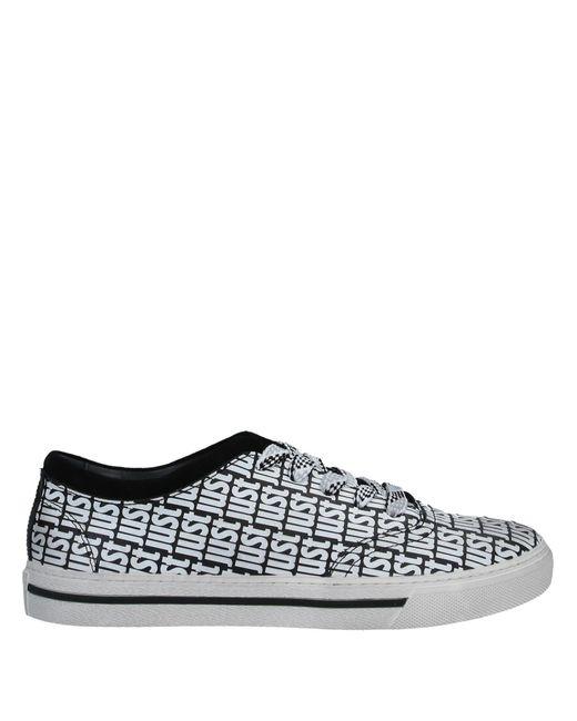 Just Cavalli Black Low Sneakers & Tennisschuhe