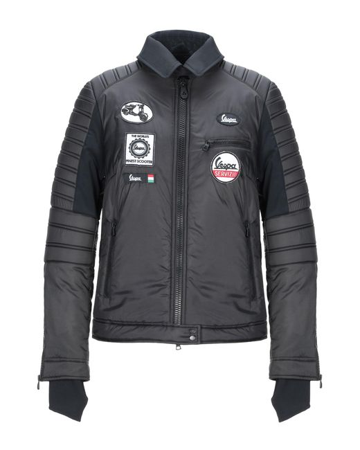 Peuterey Black Synthetic Down Jacket
