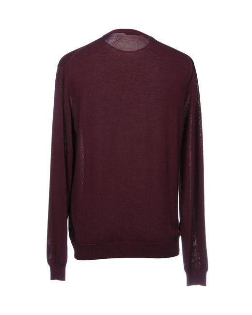 Pullover di Zanone in Purple da Uomo