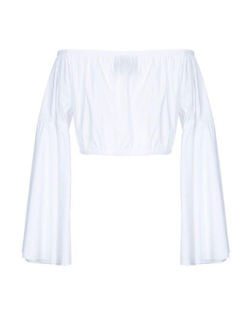 Blusa Jijil de color White