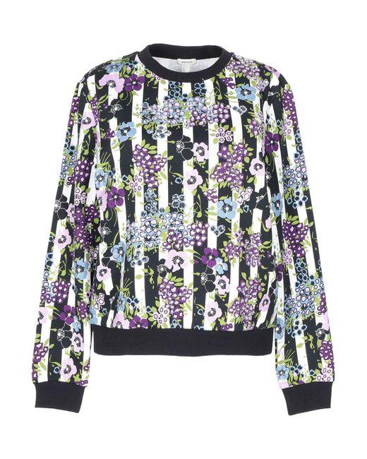 Sweat-shirt Manoush en coloris Black