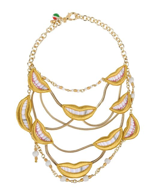 Sveva Collection - Yellow Necklace - Lyst
