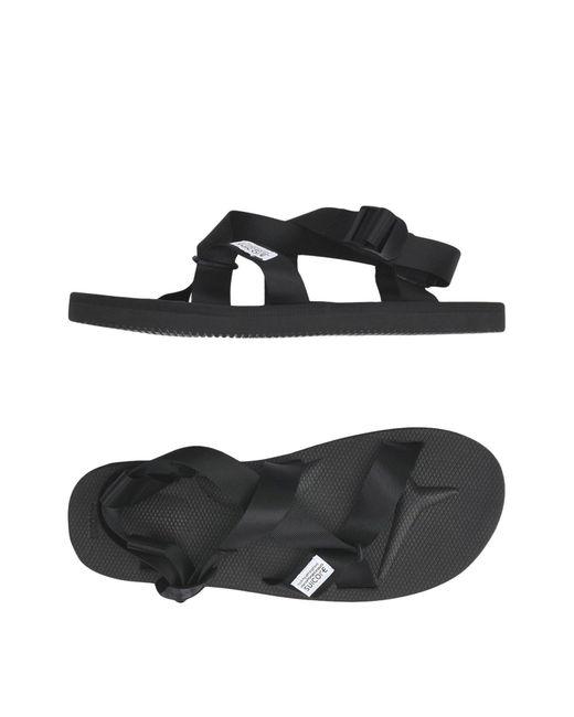 Suicoke Black Sandale