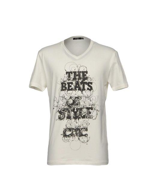 CoSTUME NATIONAL - White T-shirt for Men - Lyst