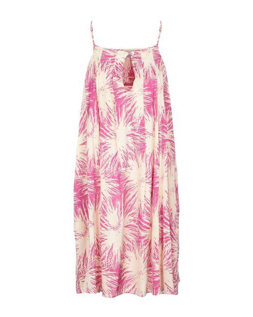 Aglini Purple Short Dress