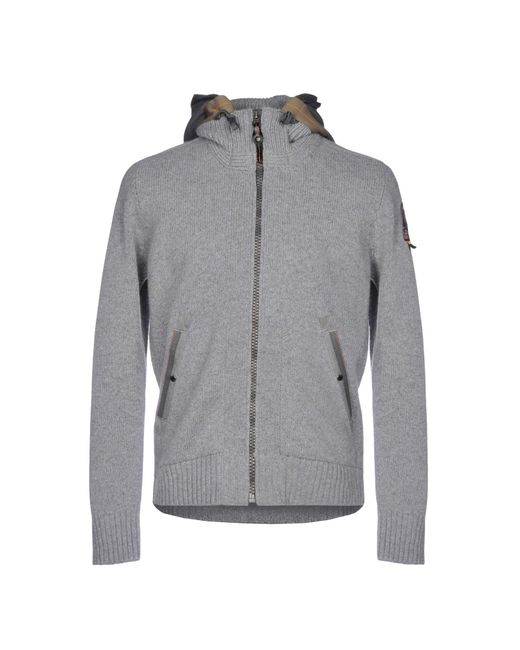 Parajumpers - Gray Cardigan for Men - Lyst ...