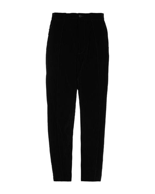 Pantalones Giorgio Armani de hombre de color Black