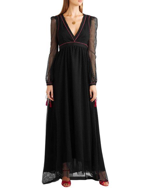 Robe longue Philosophy Di Lorenzo Serafini en coloris Black