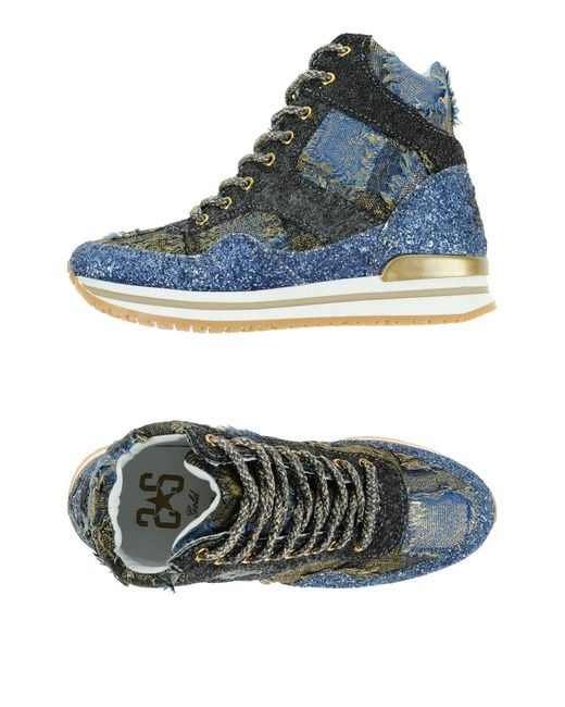 2 Star - Gray High-tops & Sneakers - Lyst