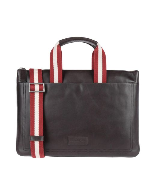 Bally Brown Work Bags for men