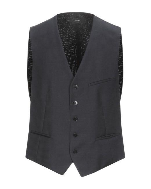 Z Zegna Blue Vest for men