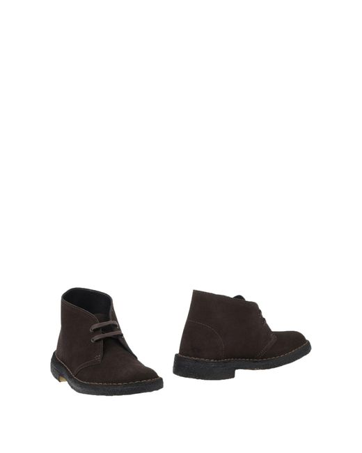 Clarks - Brown Ankle Boots for Men - Lyst