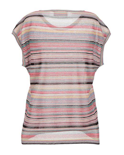 Jucca Pullover femme de coloris rose LEEgN