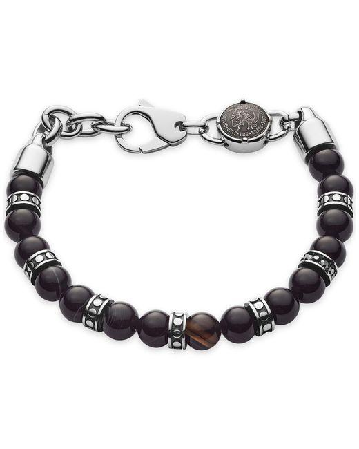 Bracelet DIESEL pour homme en coloris Black