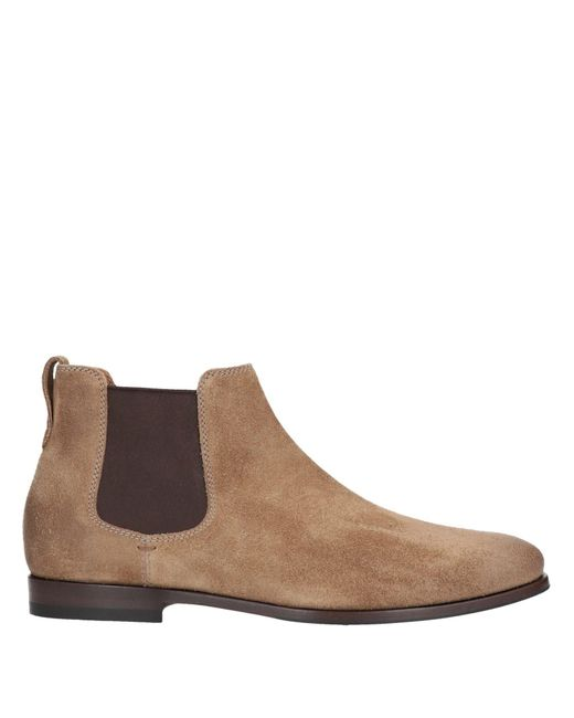 Brunello Cucinelli Brown Ankle Boots for men
