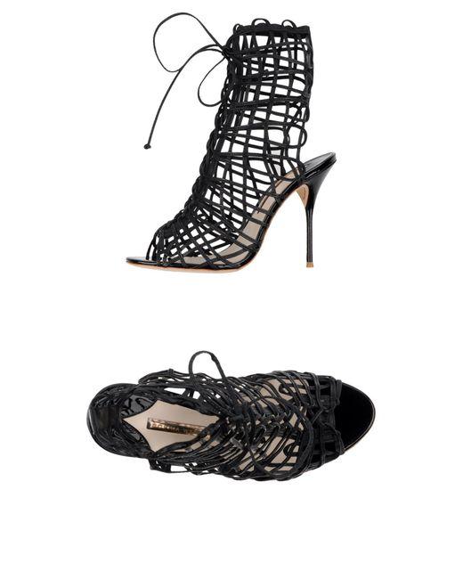 Sophia Webster - Black Sandals - Lyst