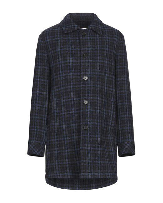 Manteau long Paltò pour homme en coloris Blue