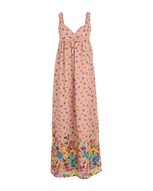 SCEE by TWINSET Pink Long Dress