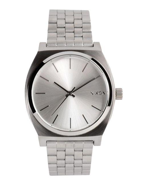 Nixon - Metallic Wrist Watch - Lyst
