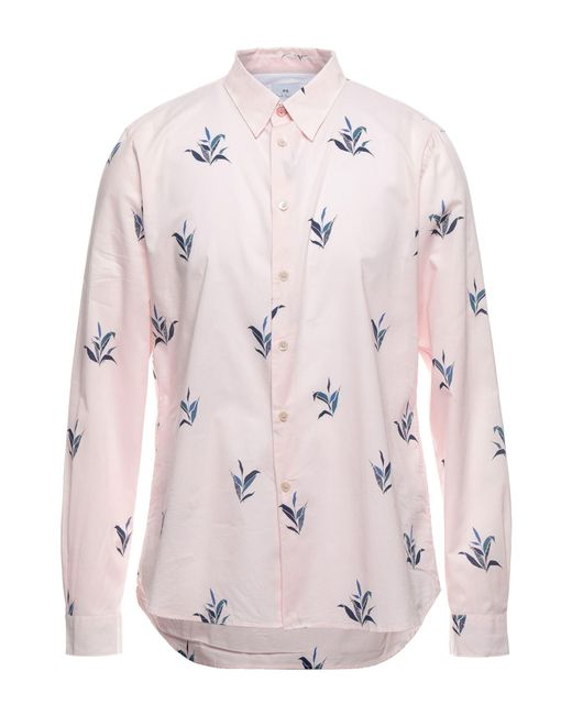 Camisa Paul Smith de hombre de color Pink