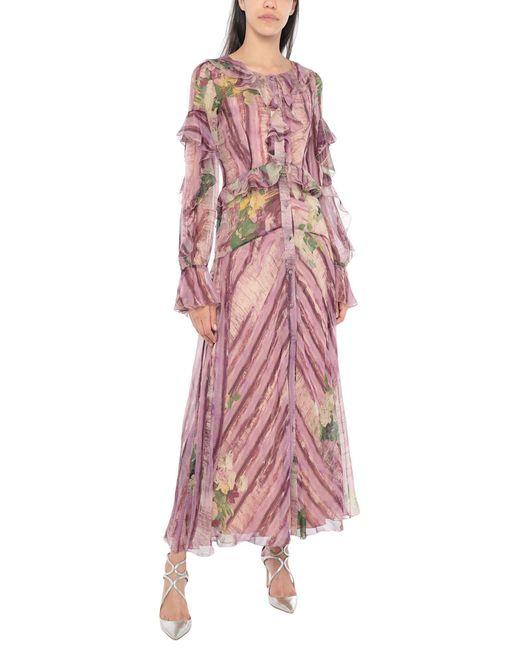 Robe longue Alberta Ferretti en coloris Purple