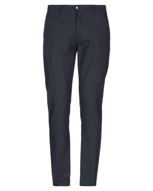 Officina 36 Blue Casual Trouser for men