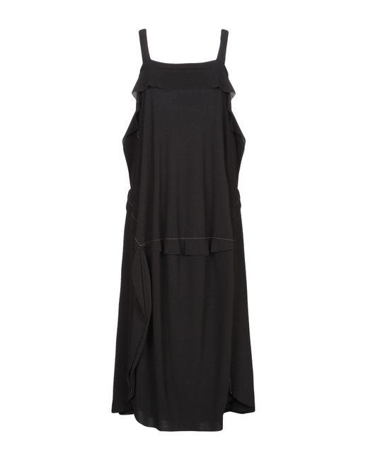 Crea Concept Black 3/4 Length Dress