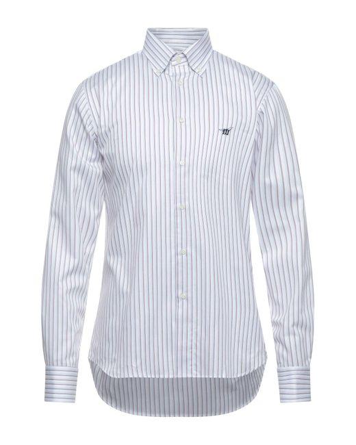 Chemise Henry Cotton's pour homme en coloris White