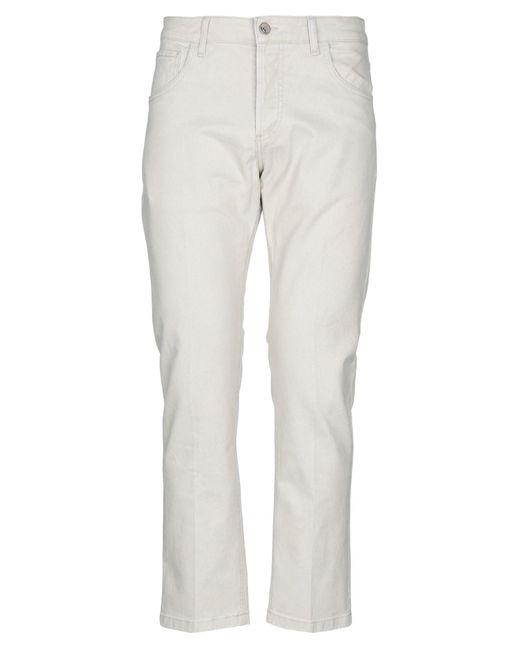 Pantalones Entre Amis de hombre de color White