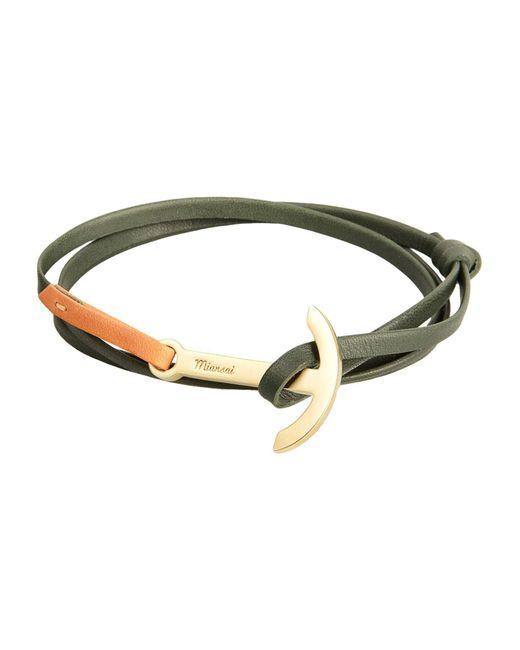 Miansai - Green Bracelet for Men - Lyst