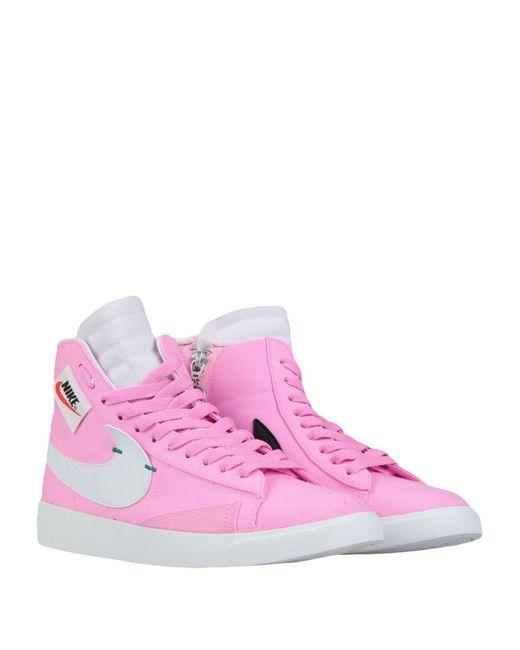 Nike Pink High Sneakers & Tennisschuhe
