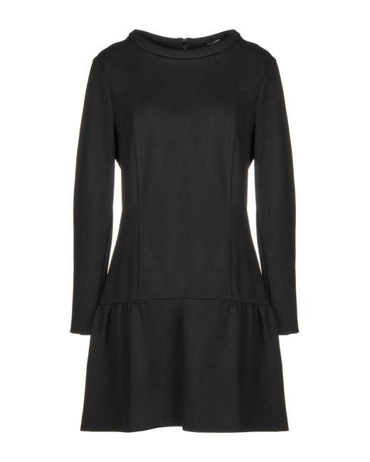 Robe courte Tara Jarmon en coloris Black