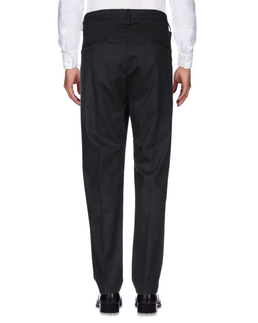 Pantalon Dondup pour homme en coloris Black