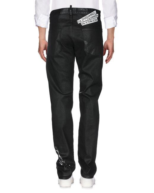 Pantalon en jean DSquared² pour homme en coloris Black