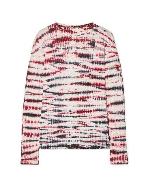 Proenza Schouler Camiseta de mujer de color rojo 8ZUBp