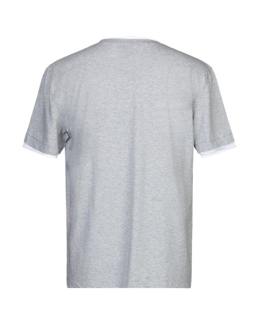 Paolo Pecora T-shirts in Gray für Herren