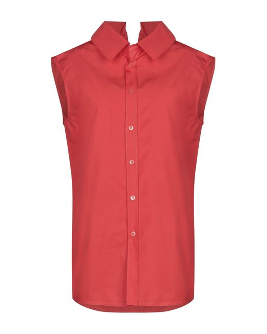 Marni Red Shirt