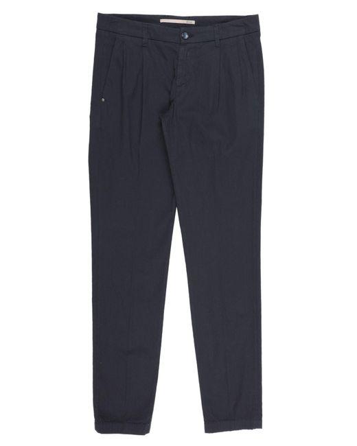 Pantalone di Re-hash in Blue da Uomo