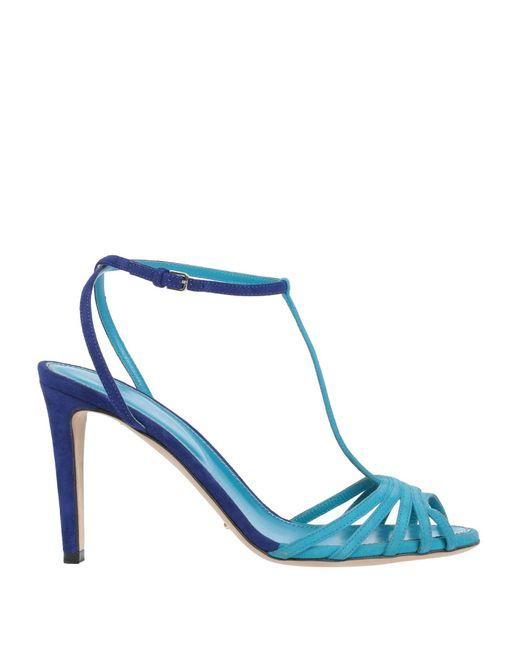 Sergio Rossi Sandalias de mujer de color azul