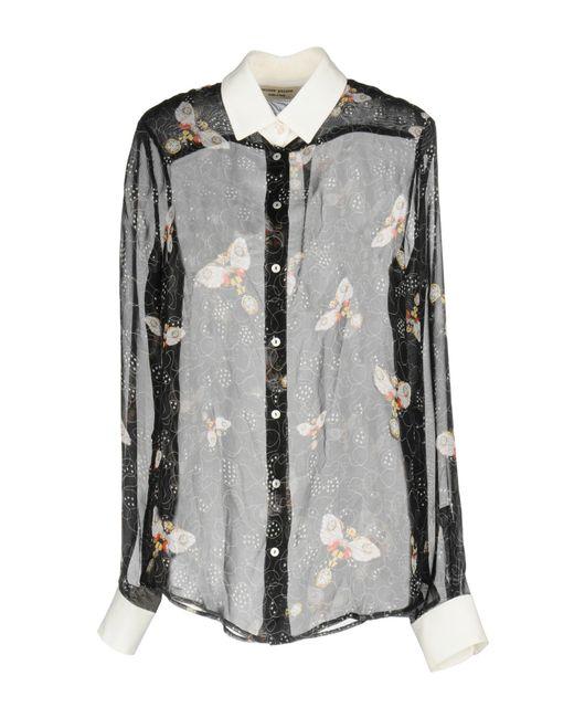 Piccione.piccione | Black Shirt | Lyst