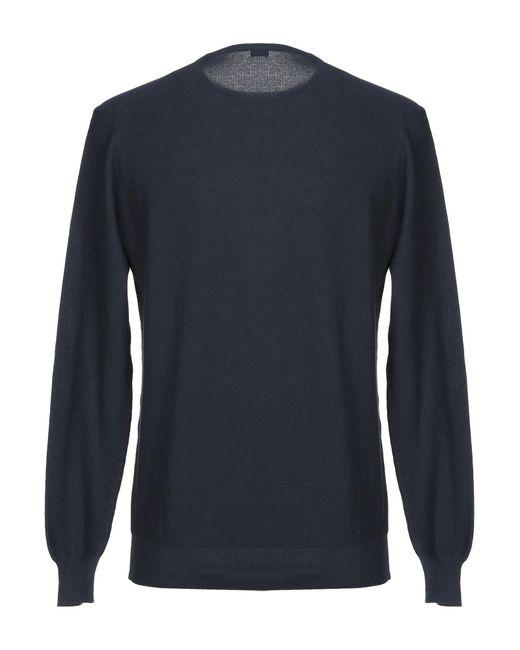 Pullover di Paolo Pecora in Blue da Uomo