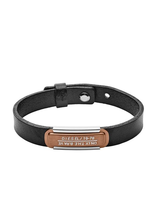 DIESEL Armband in Black für Herren